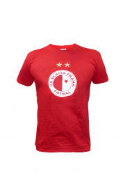 Child Red T-Shirt with logo Slavia