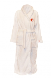 Child White Bathrobe
