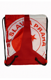 Slavia Red and White Bag